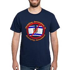 Stop Division of Jerusalem T-Shirt