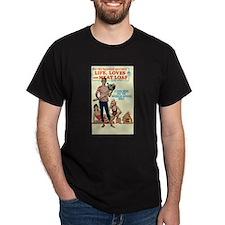 """Multi-Color T-Shirt-""""Life, Loves & Meat Loaf"""""""