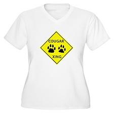 Cougar Mountain Lion Crossing T-Shirt