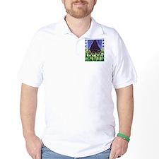 SCHIPPERKE window Design T-Shirt