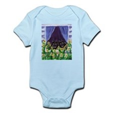 SCHIPPERKE window Design Infant Creeper