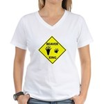 Beaver Crossing Women's V-Neck T-Shirt