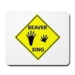 Beaver Crossing Mousepad