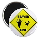 Beaver Crossing Magnet