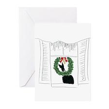 Christmas005 Greeting Cards (Pk of 20)