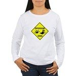 Opossum Crossing Women's Long Sleeve T-Shirt
