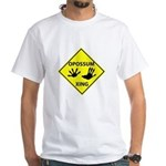 Opossum Crossing White T-Shirt