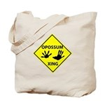 Opossum Crossing Tote Bag