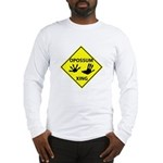 Opossum Crossing Long Sleeve T-Shirt