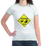 Opossum Crossing Jr. Ringer T-Shirt