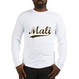 Vintage Mali Retro Malian Long Sleeve T-Shirt
