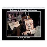 Robot Wall Calendars