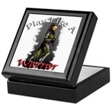 Play Like a Warrior Keepsake Box