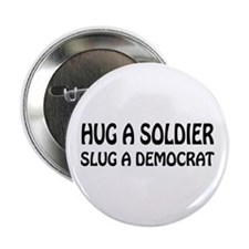 "Funny Anti-Democrat T-shirts 2.25"" Button"
