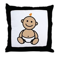Logo Baby Throw Pillow
