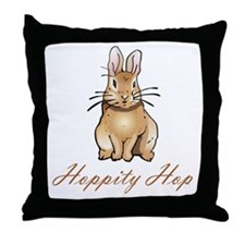 Classic Bunny Throw Pillow