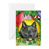 Schipperke Holiday Greeting Cards (Pk of 10)