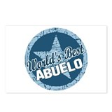 World's Best Abuelo Postcards (Package of 8)