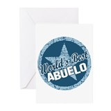 World's Best Abuelo Greeting Cards (Pk of 20)