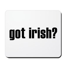 got irish? Mousepad