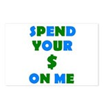 Spend your $ Postcards (Package of 8)