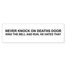 Deaths Door Bumper Bumper Sticker