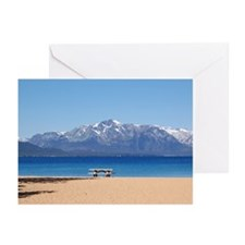 Nevada Beach, Lake Tahoe - Greeting Cards (20)