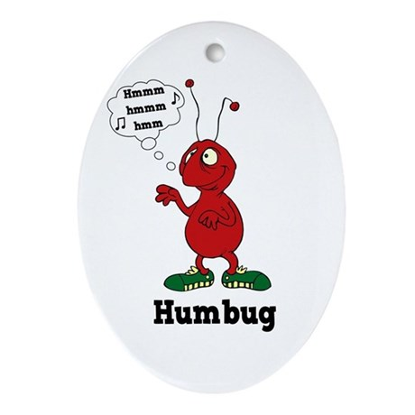 Humbug Oval Ornament