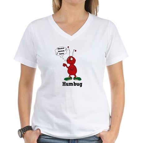 Humbug Women's V-Neck T-Shirt