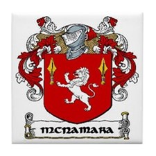 McNamara Coat of Arms Ceramic Tile