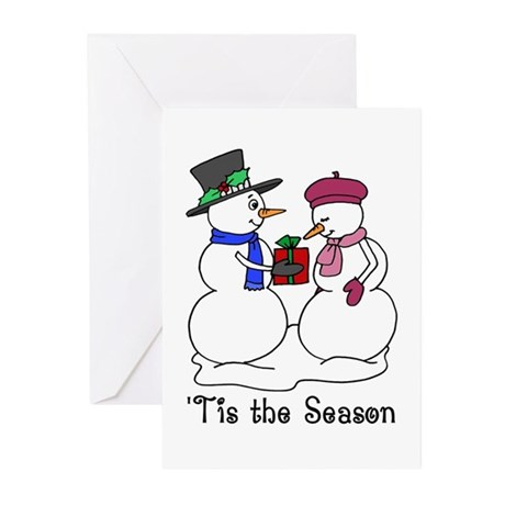 'Tis the Season Greeting Cards (Pk of 10)