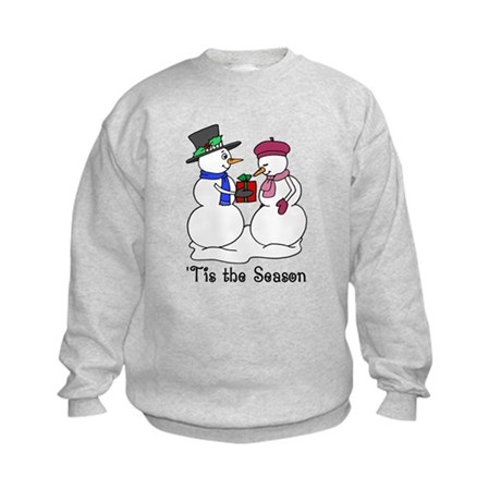 'Tis the Season Kids Sweatshirt