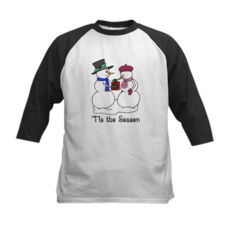 'Tis the Season Kids Baseball Jersey