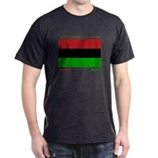 Bendera Kwanzaa Colors T-Shirt