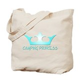 Camping Princess - 3 Tote Bag