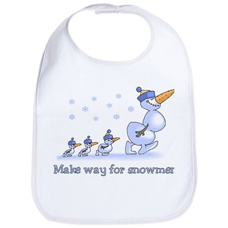 Make Way for Snowmen Bib