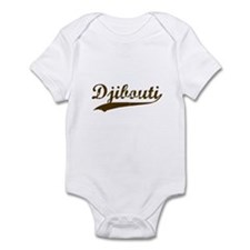 Vintage Djibouti Retro Infant Bodysuit