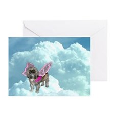 Winged Zoe Greeting Cards (Pk of 10)