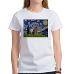Starry / Weimaraner Women's T-Shirt