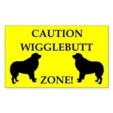 Wigglebutt Zone Decal