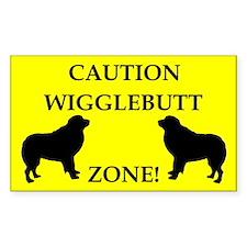 Wigglebutt Zone Decal