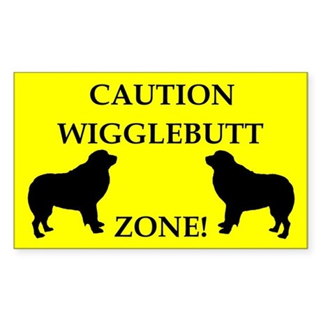 Wigglebutt Zone Sticker