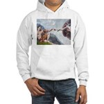 Creation / Weimaraner Hooded Sweatshirt