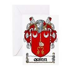 Quinn Coat of Arms Note Cards (Pk of 10)