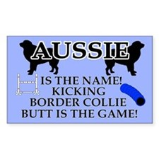 Aussie Agility Decal