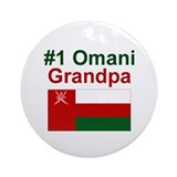 Omani #1 Grandpa Keepsake Ornament