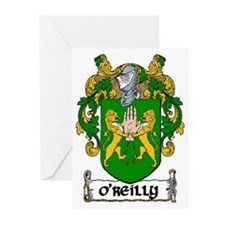 O'Reilly Coat of Arms Greeting Cards (10)