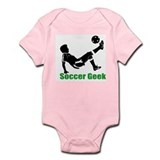 Soccer Geek Infant Creeper