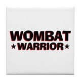 Wombat Warrior Tile Coaster