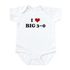 I Love BIG 3-0 Infant Bodysuit